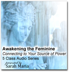 Awakening The Feminine with Sarah Maria